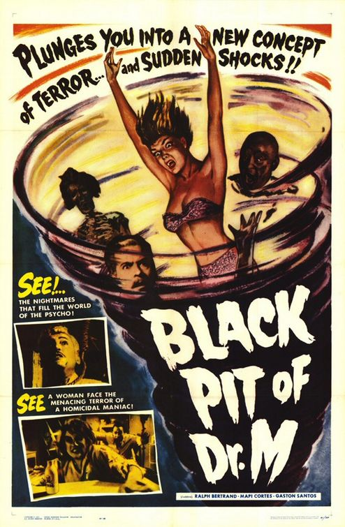 The Black Pit of Dr. M Movie Poster