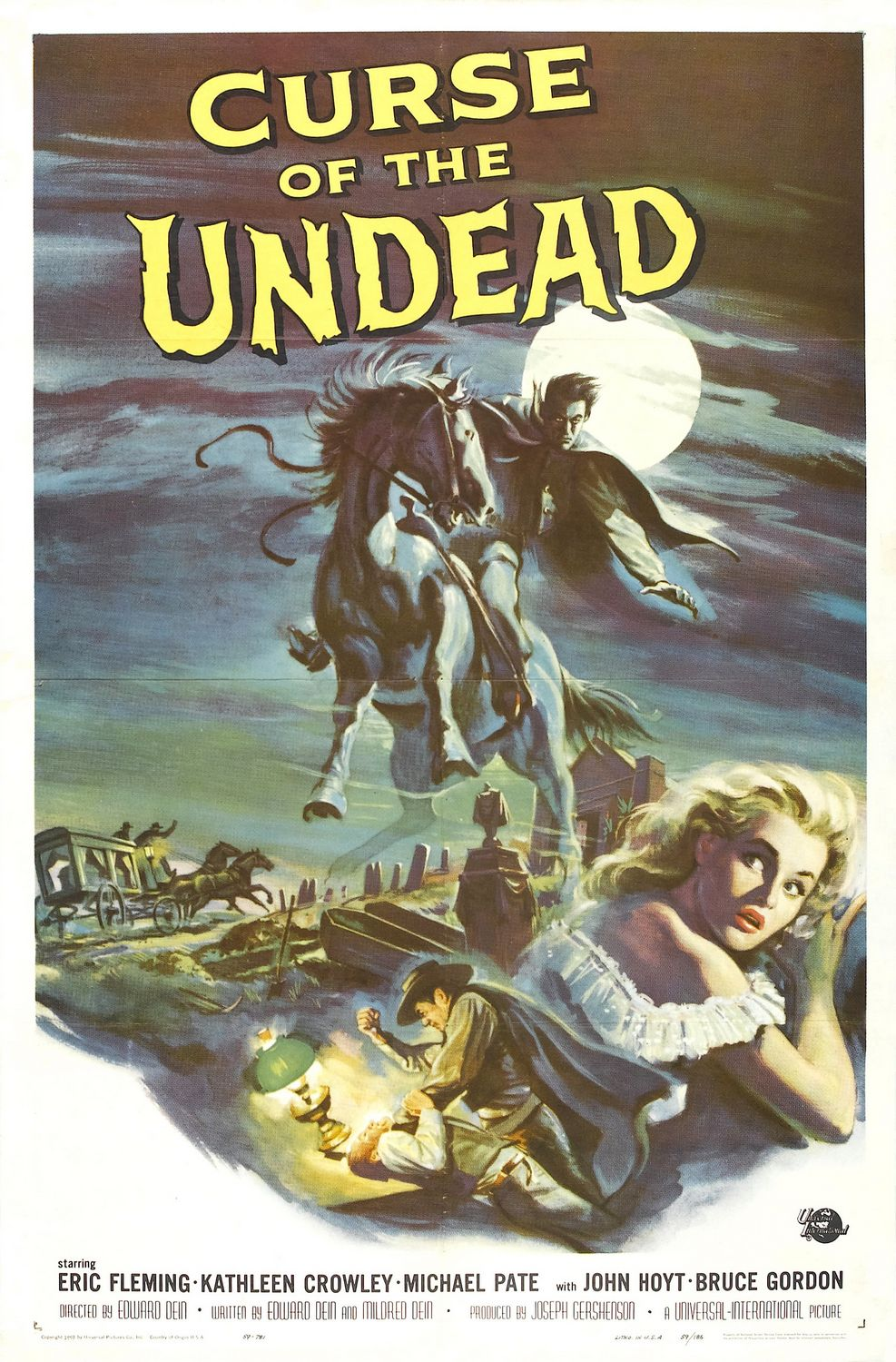 Extra Large Movie Poster Image for Curse of the Undead