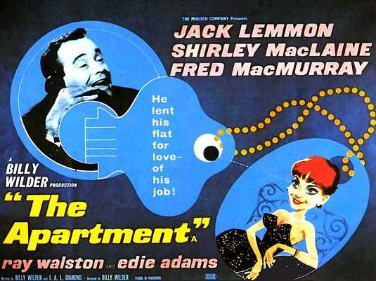 Image result for the apartment movie poster