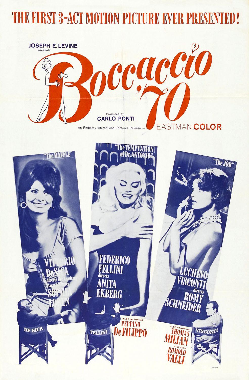 Poster do filme Boccaccio 70
