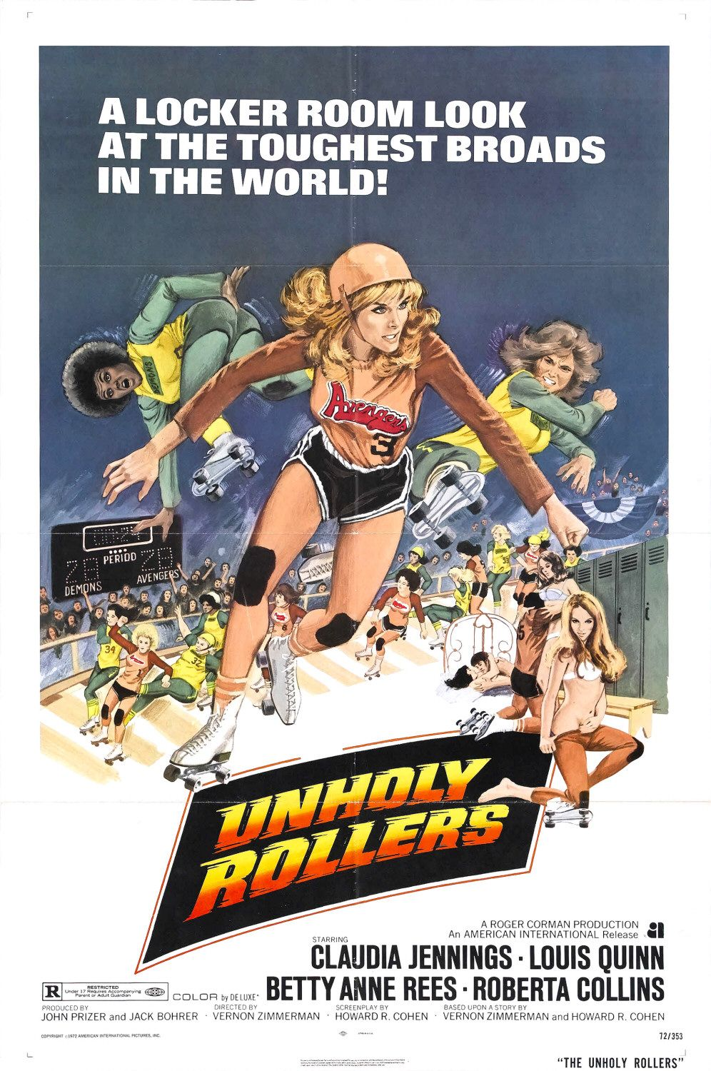 Poster do filme The Unholy Rollers