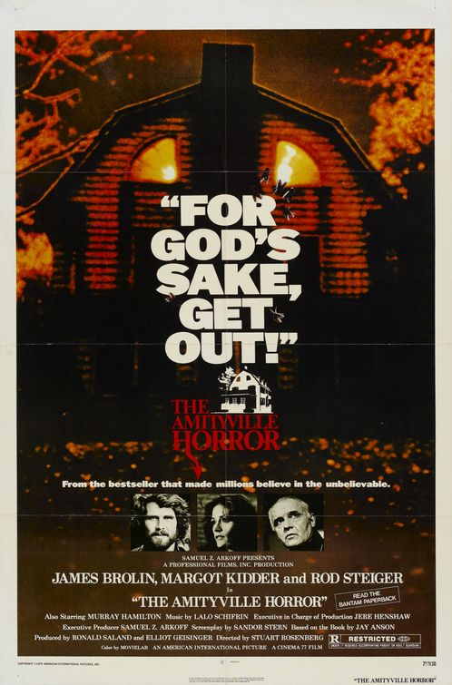 Image result for amityville horror poster