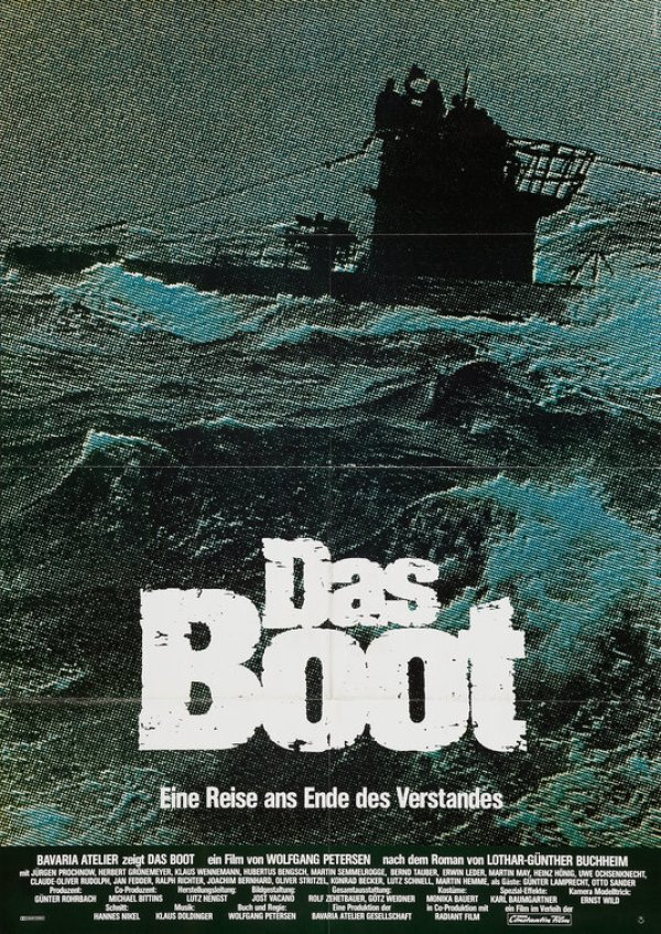 Image result for das boot poster