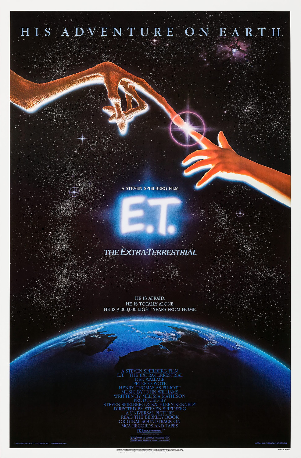 Image result for E.T. Poster