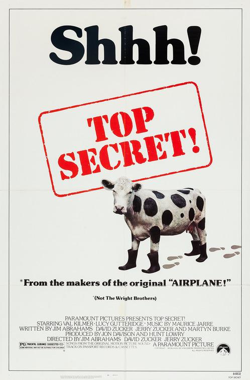 Top Secret! Movie Poster