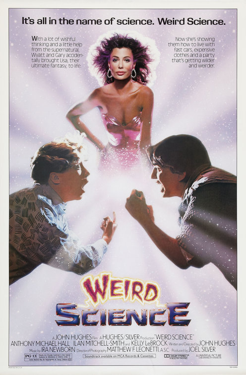 Image result for weird science  poster