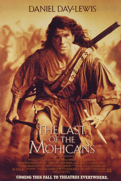daniel Day Lewis last of the mohicans