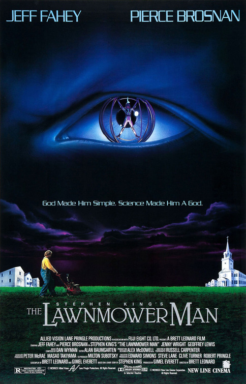 The Lawnmower Man movie