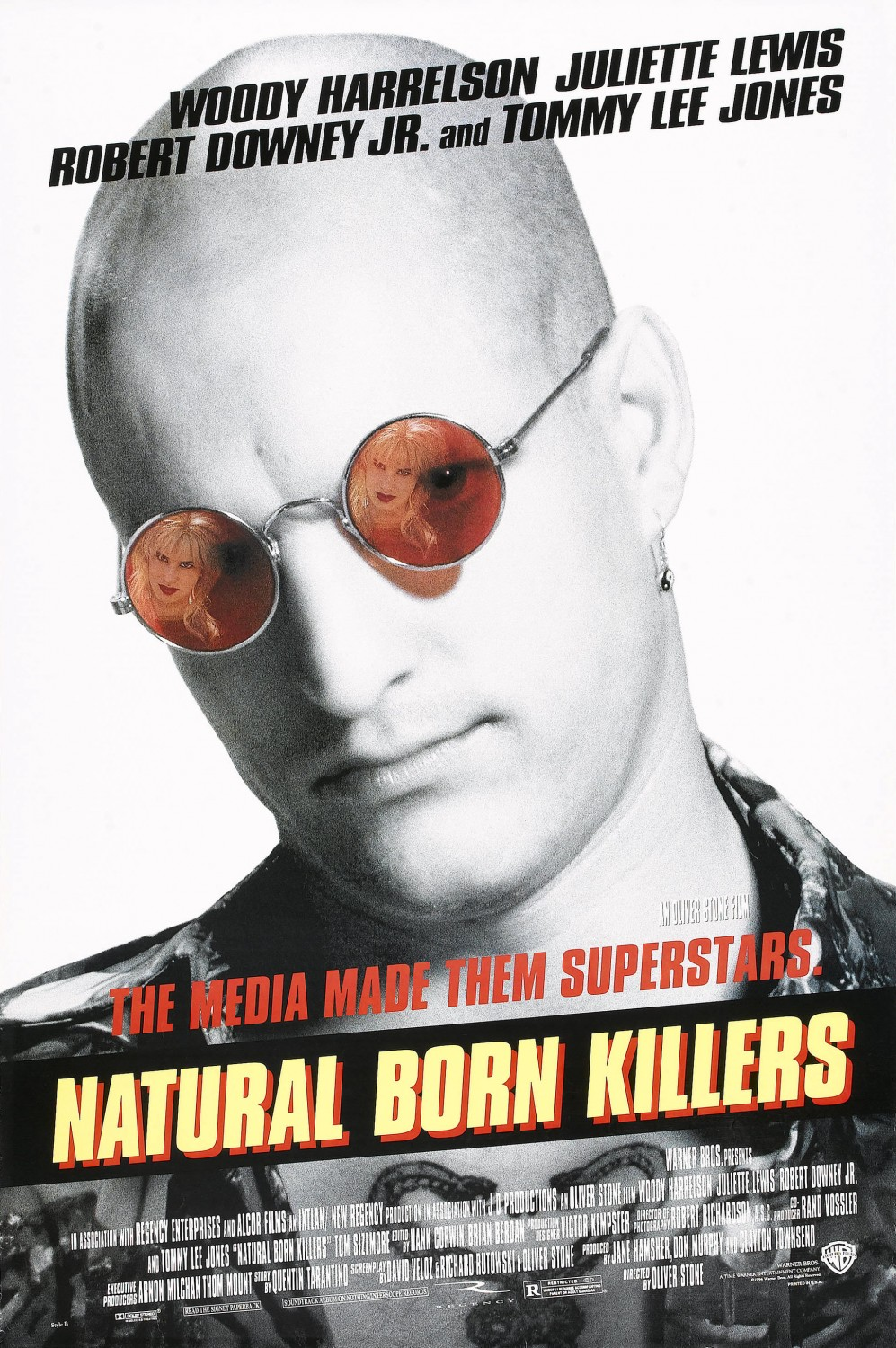 Extra Large Movie Poster Image for Natural Born Killers (#2 of 2)