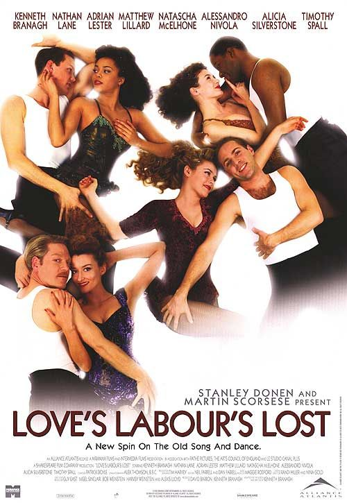Love's Labours Lost Movie Poster