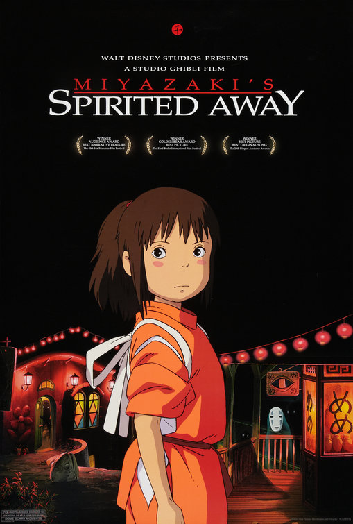 Image result for spirited away poster