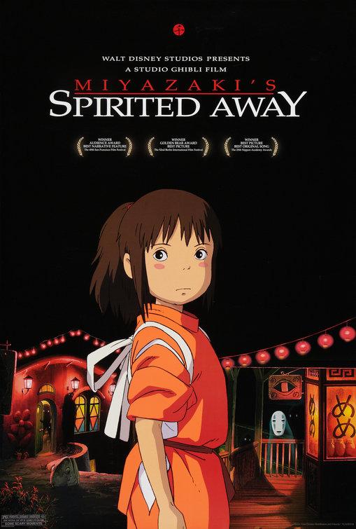 Image result for spirited away poster