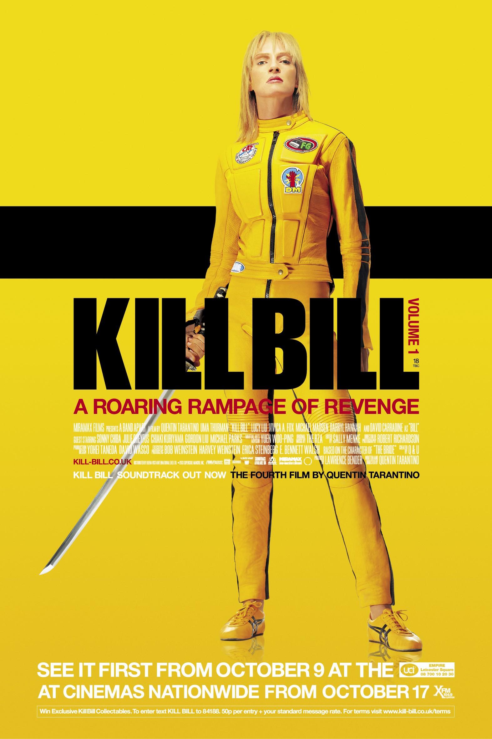 Image result for kill bill poster