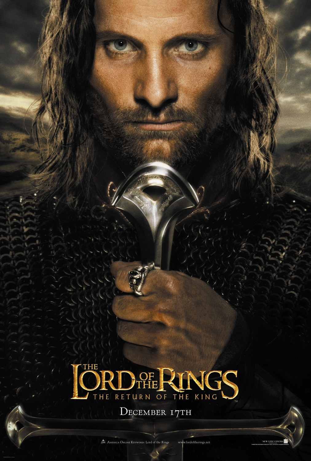 Extra Large Movie Poster Image for The Lord of the Rings: The Return of the King