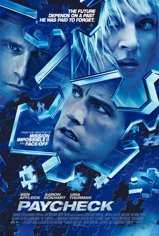 Paycheck Movie Poster