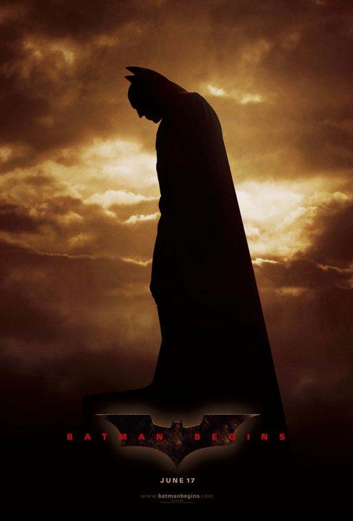 Poster do filme Batman Begins