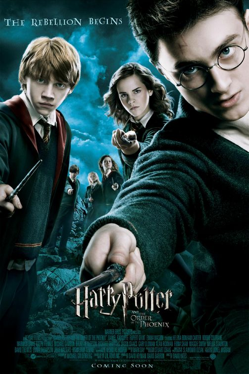 Image result for harry potter and the order of the phoenix poster