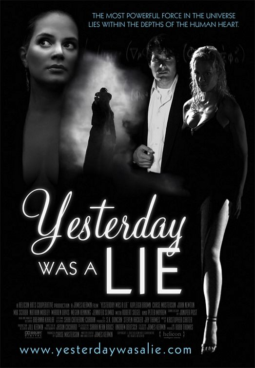 Poster do filme Yesterday Was A Lie