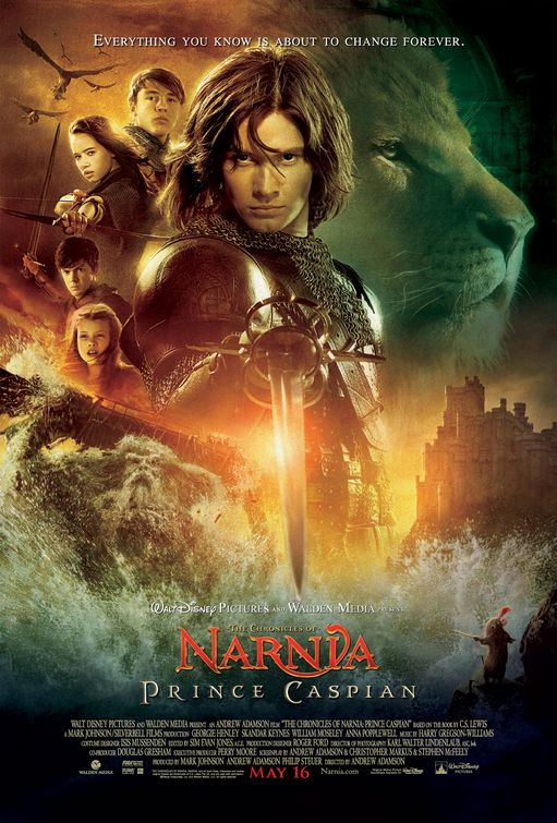 Image result for the chronicles of narnia prince caspian poster
