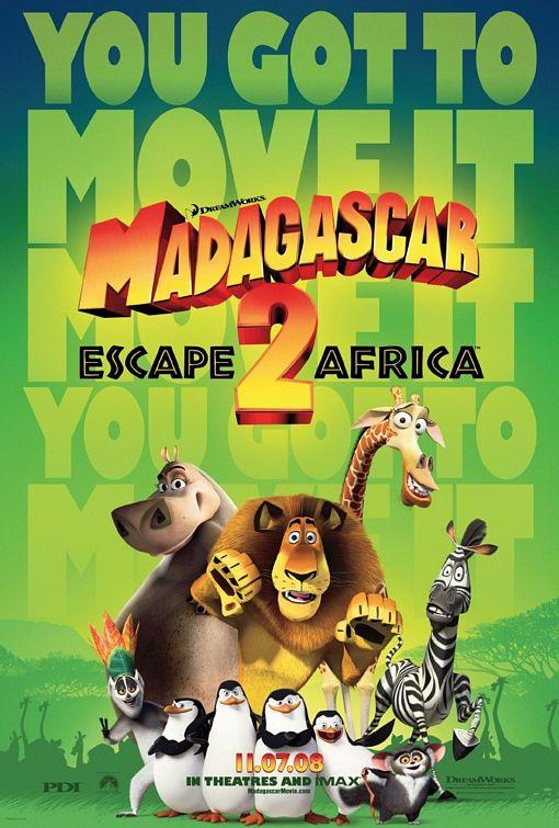Poster do filme Madagascar 2