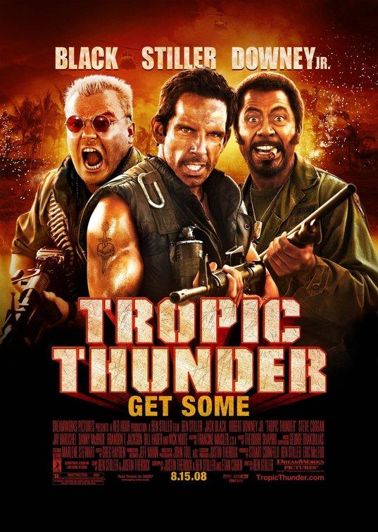 Tropic Thunder Movie Poster