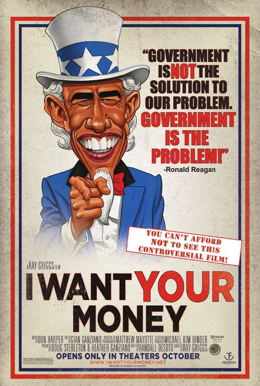 I Want Your Money Poster - Click to View Extra Large Image