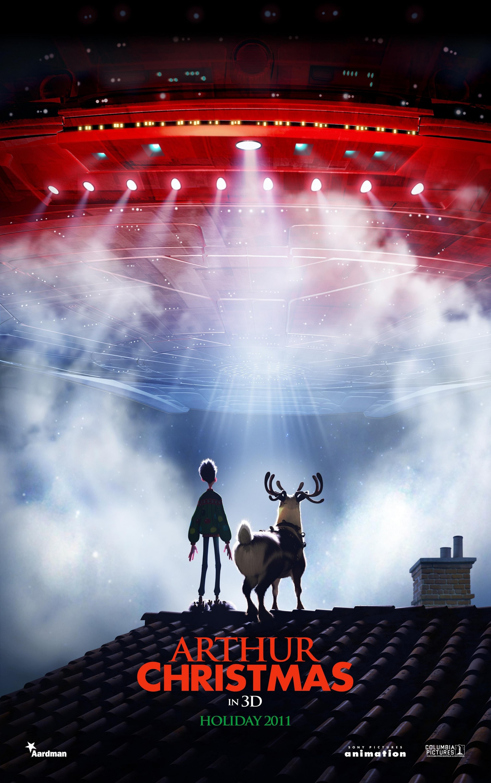 Arthur Christmas 1 Of 10 Mega Sized Movie Poster Image