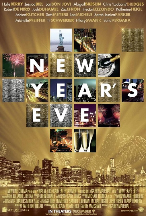 New Year s Eve Movie Poster   1 of 3    IMP Awards New Year s Eve Movie Poster