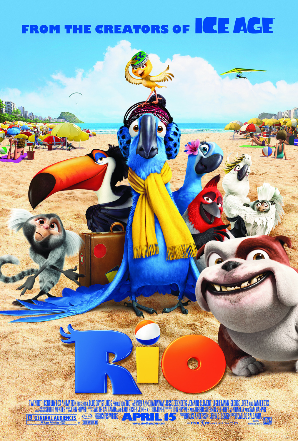 Extra Large Movie Poster Image for Rio