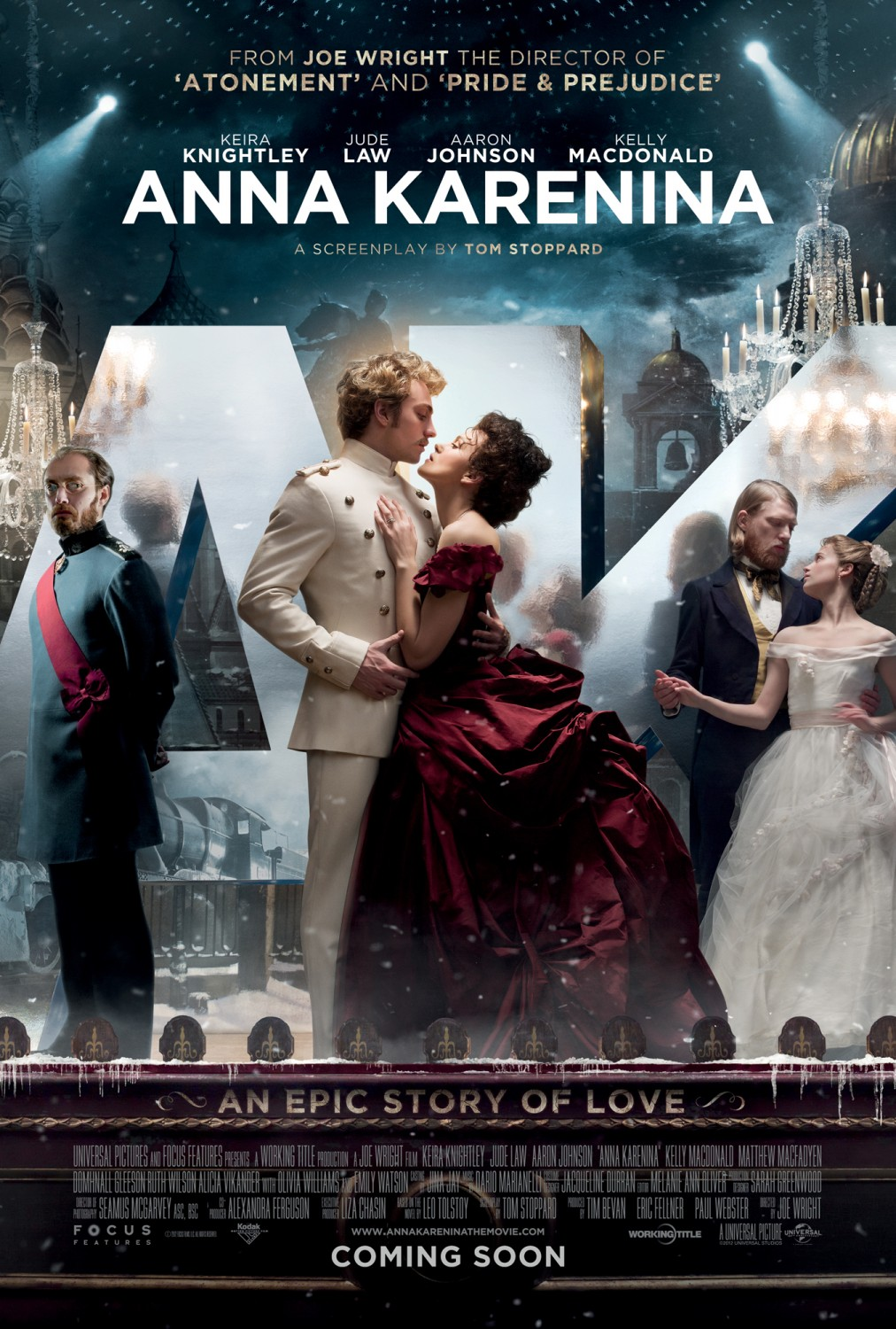 Extra Large Movie Poster Image for Anna Karenina