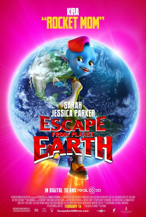 Escape from Planet Earth Movie Poster 6 of 10 IMP Awards