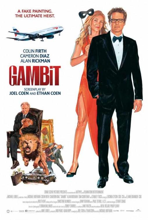 Poster do filme Gambit