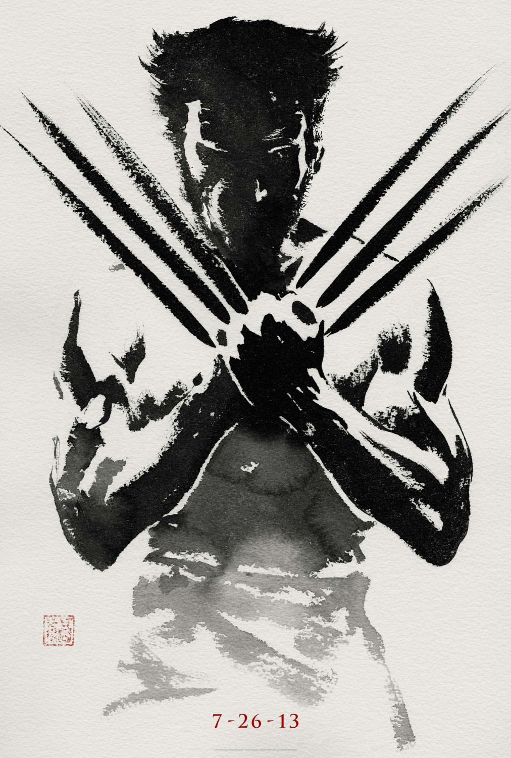 Extra Large Movie Poster Image for The Wolverine