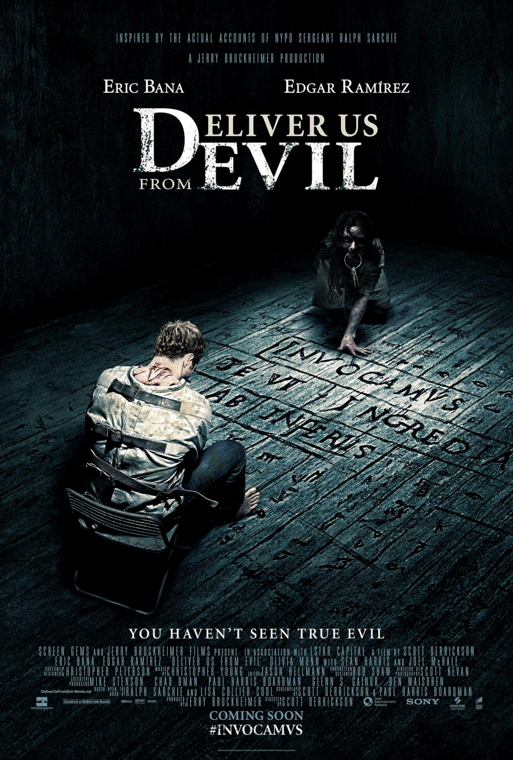 Extra Large Movie Poster Image for Deliver Us from Evil