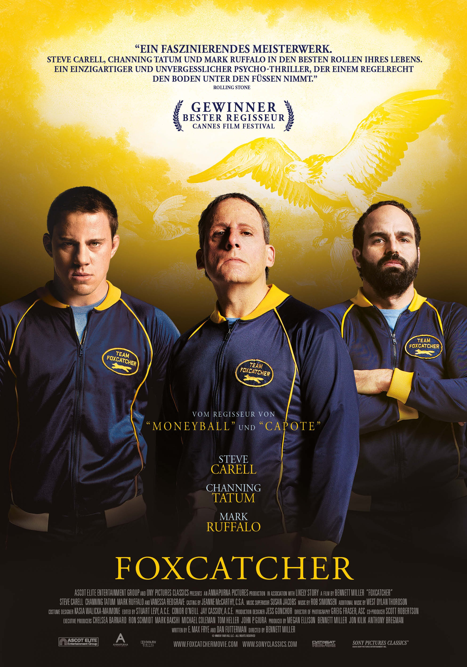Mega Sized Movie Poster Image for Foxcatcher
