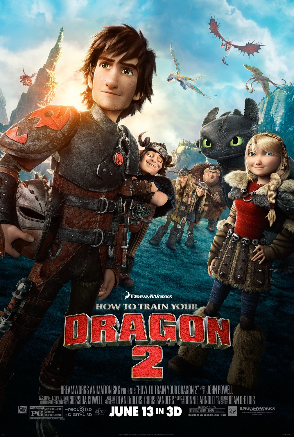 Image result for how to train your dragon 2 movie poster