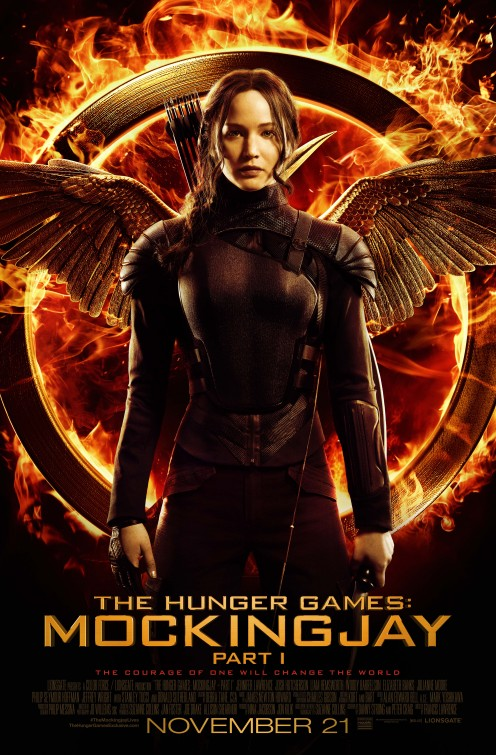 Image result for mockingjay part 1 poster