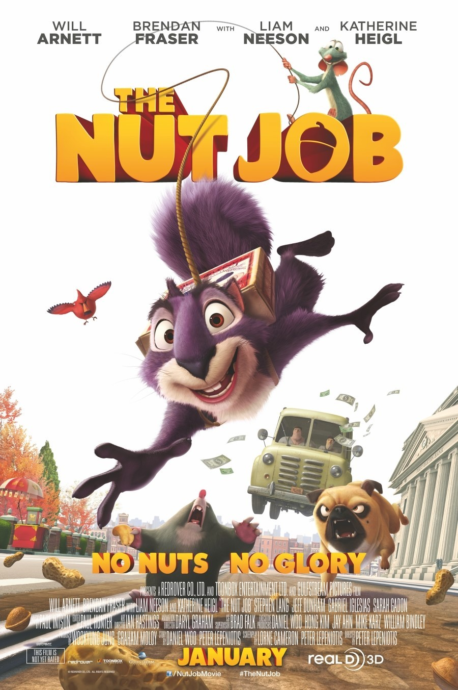 Extra Large Movie Poster Image for The Nut Job