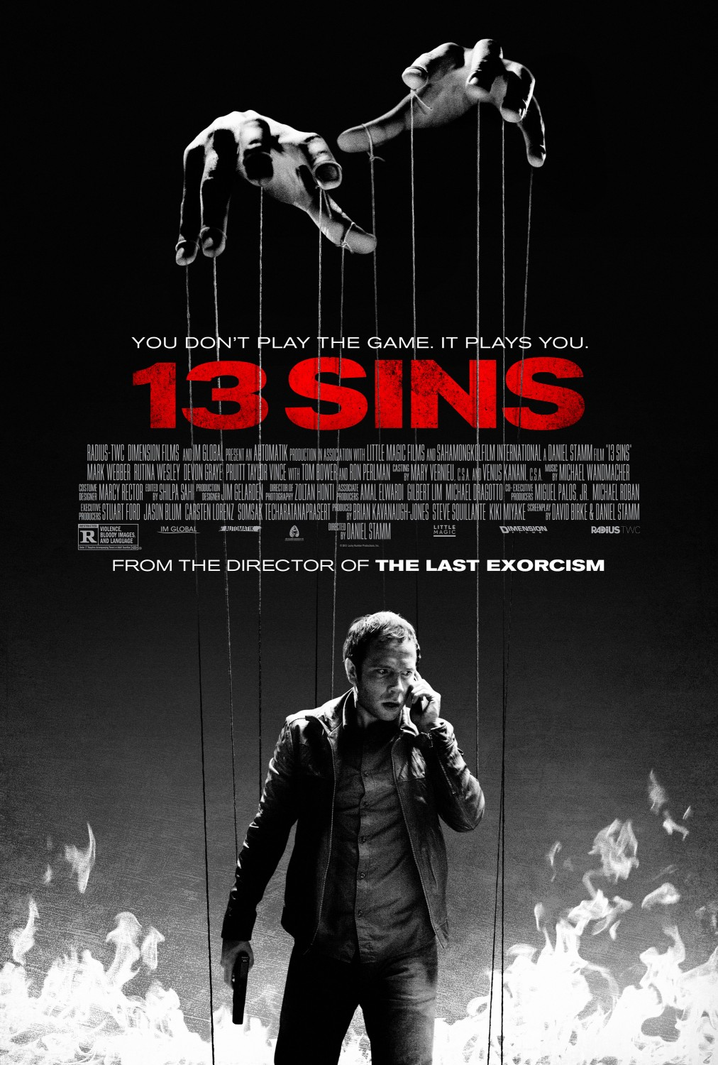 Extra Large Movie Poster Image for 13 Sins