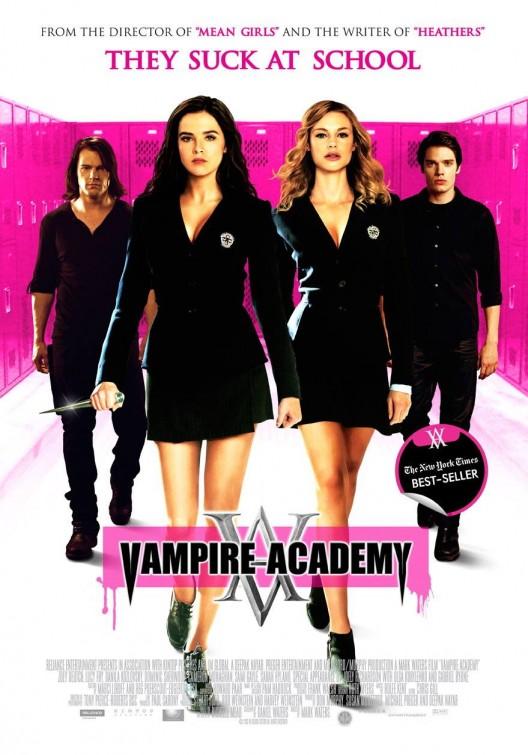 Imagini pentru vampire academy movie poster