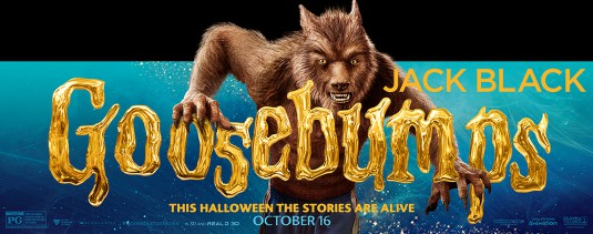 Image result for goosebumps film poster