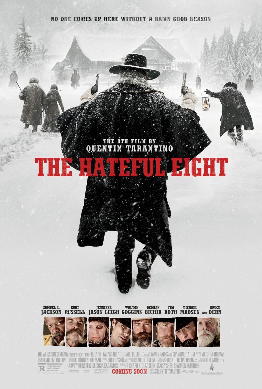 Resultado de imagem para the hateful eight poster