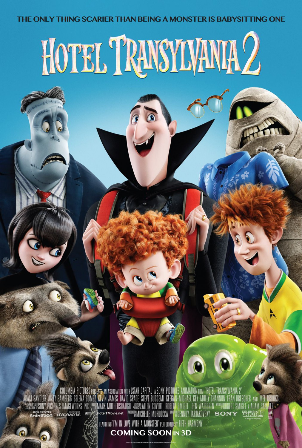 Image result for hotel transylvania 2 movie poster