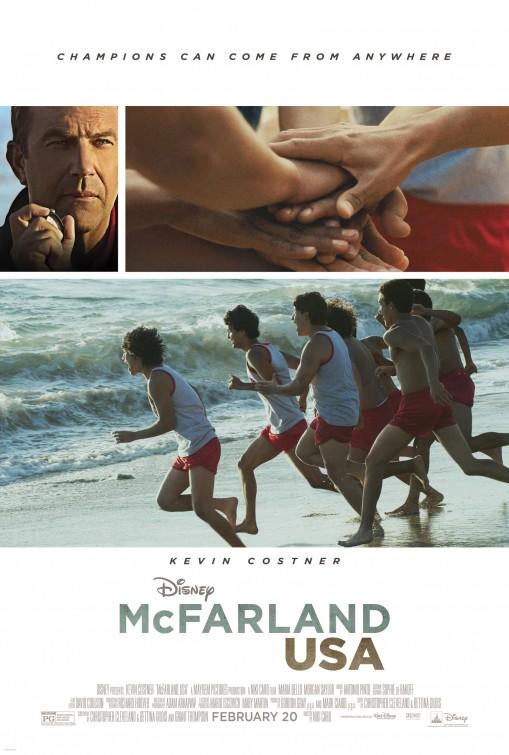 Poster do filme McFarland dos Eua