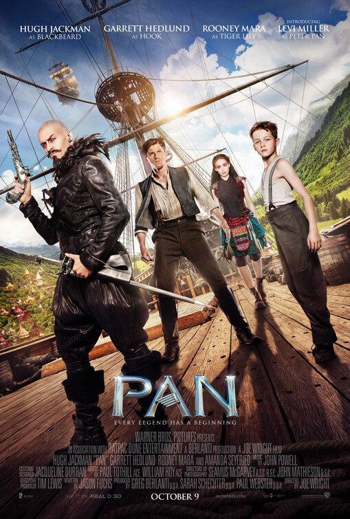 Image result for pan movie poster