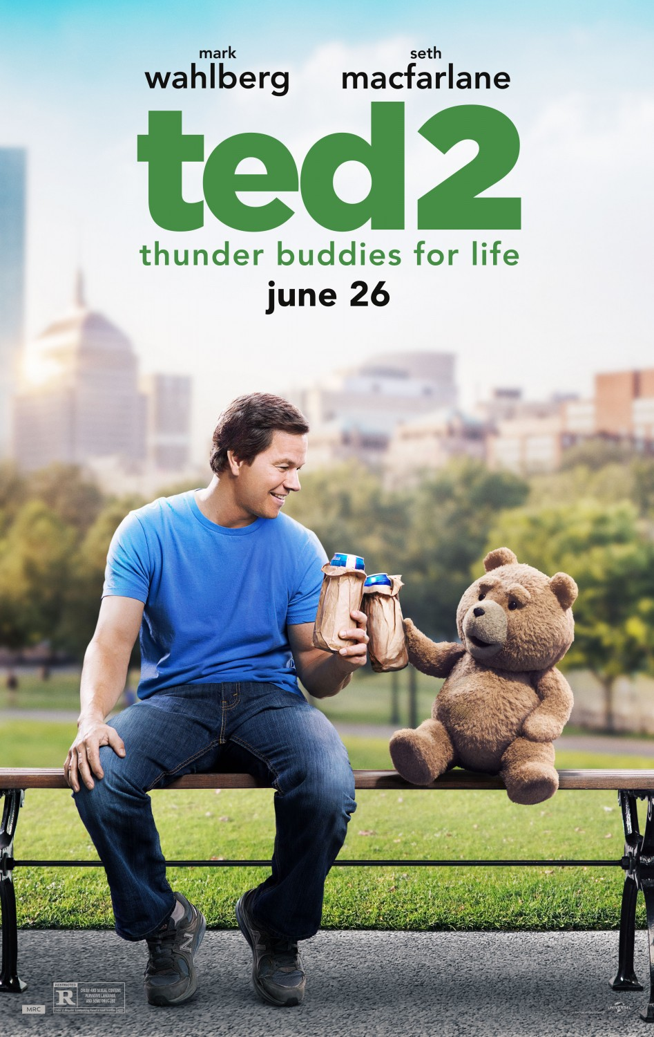 Extra Large Movie Poster Image for Ted 2 (#4 of 6)