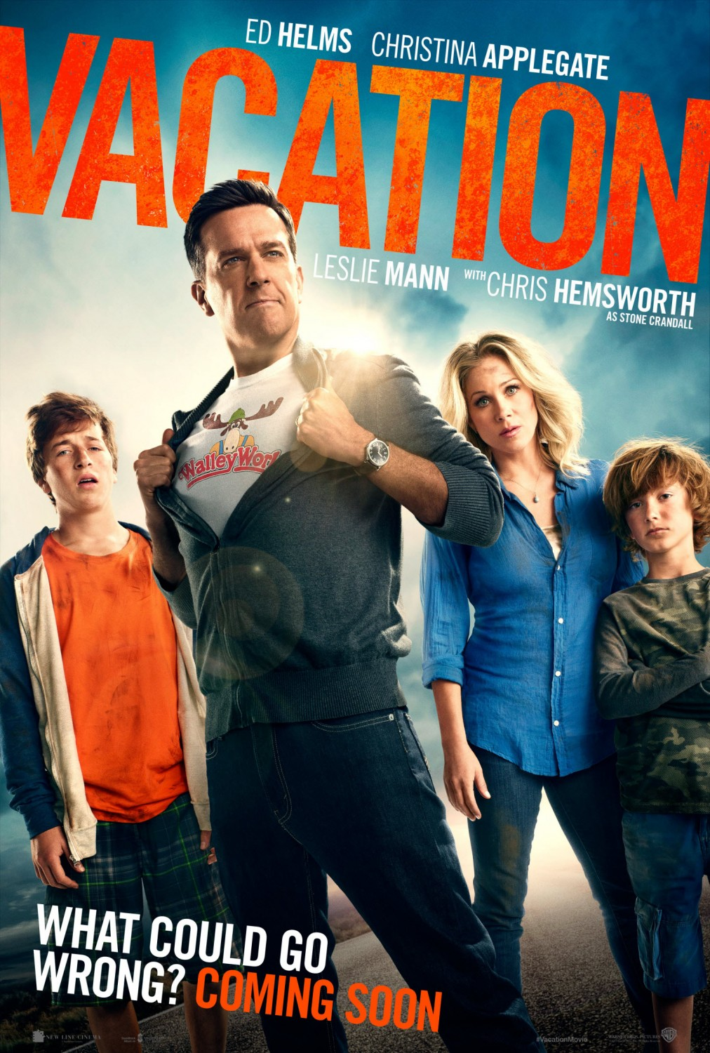 Image result for vacation 2015 movie poster