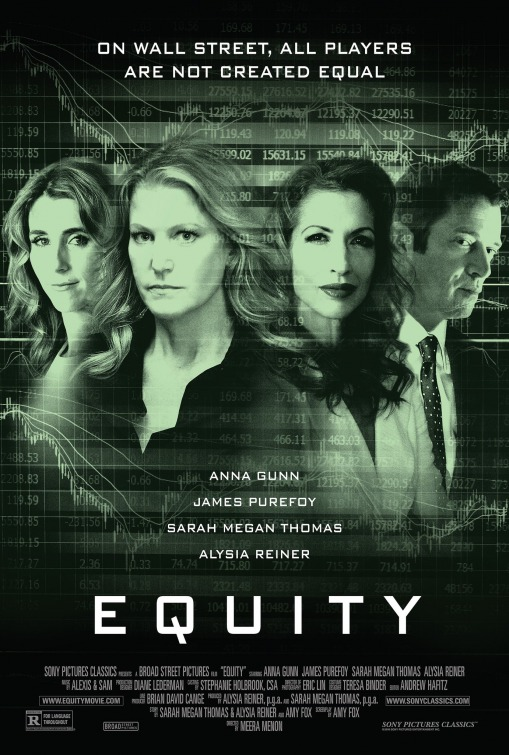 Image result for equity movie poster