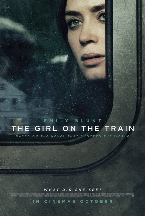 Image result for girl on the train film poster