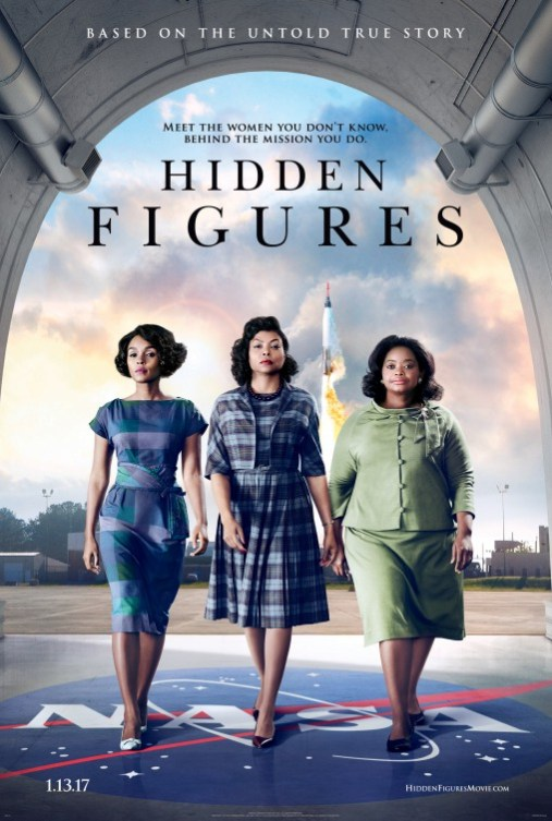 """Hidden Figures"" 3 African American Women walking through NASA"